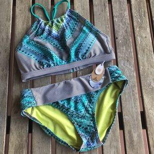 NWT Prana two piece bikini